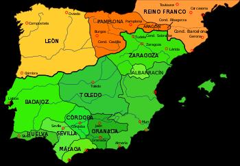 el reino de Navarra peninsular es ocupado por los reinos de Castilla y Aragón.