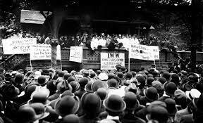 El movimiento obrero. Las internaciones y los sindicatos