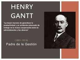 Henry Lawrence Gantt/Padre de la Gestión