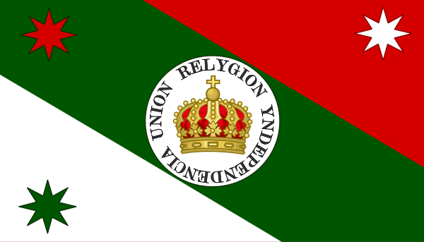 Bandera del Ejercito Trigarante.