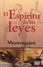 Publicación del Espíritu de las Leyes de Montesquieu