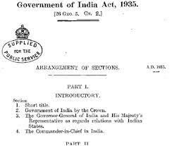 the first step towards independence(Indian act)(B)