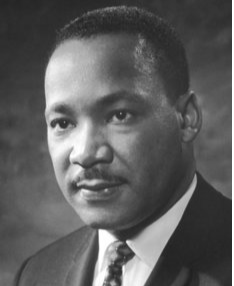 Martin Luther King Jr (1929 - 1968)