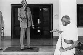 Gandhi meet Muhammad Ali Jinnah(B)