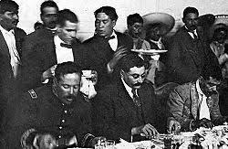 Reunión de Villa y Zapata en Xochimilco