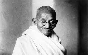 the death of Gandhi(B)