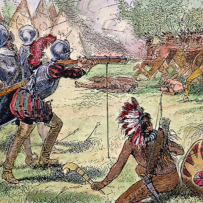 The Native American Wars  timeline