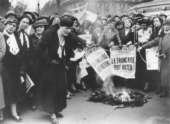 Primera ola: El feminismo de equidad