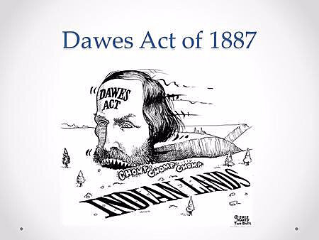 Signing of the Dawes Act