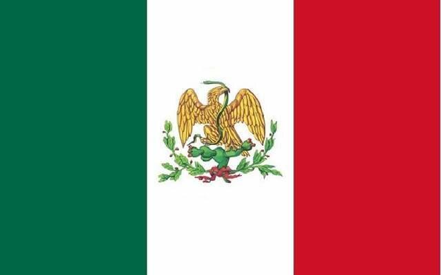 Bandera del Batallón de San Blas.