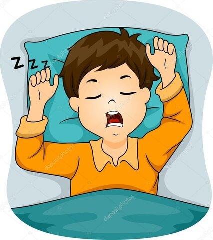 7. Finally, I go to sleep or watch a cell phone