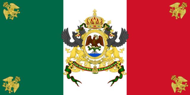 Bandera de Maximiliano.