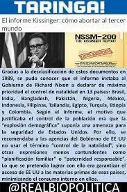 A partir del Memorandum Kissinger-MacNamara