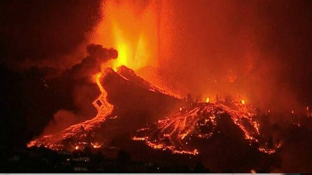 Erupció del volcà Cumbre Vieja de La Palma