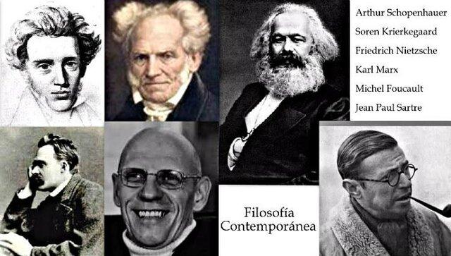 Filosofía contemporánea (XX)