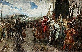 Toma del Reino de Granada