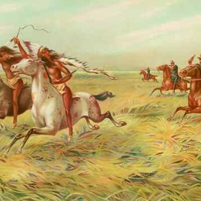 the Native American wars.  timeline