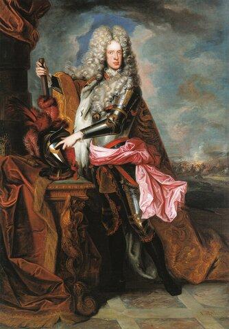 Mort de Josep I, germà de Carles d'Habsburg