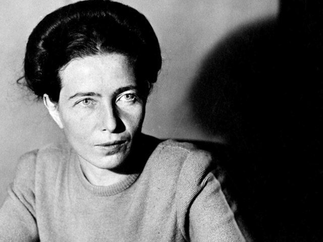 Simone de Beauvoir muere