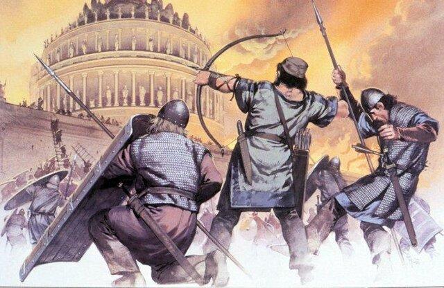 Caída de l'imperi romà (Inici Edat mitjana)