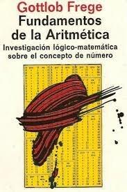 Libro: Los Fundamentos de la Aritmética por Gottlob Frege
