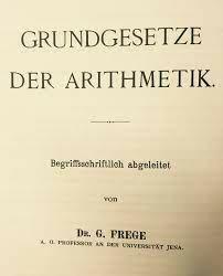 Gottlob Frege publica sus hallazgos.