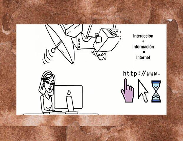 Interacción + Información = Internet