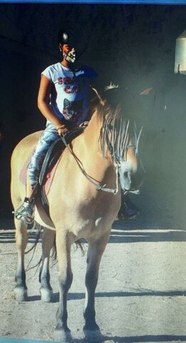 Vaig montar a cavall per primer cop