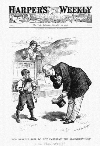 Gentleman's Agreement Between Japan and America
