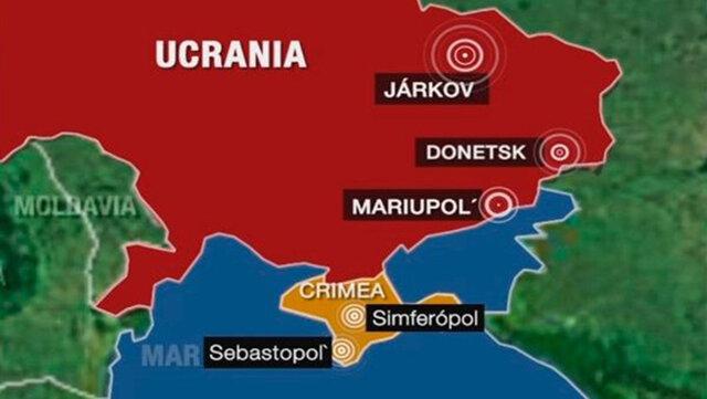 Crimea pasa a ser de Russia (polític)