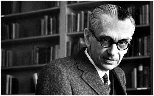 Kurt Gödel o también Kurt Goedel; lógico, matemático y filósofo austríaco (1906-1978)