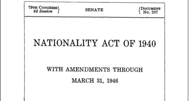 The Nationality Act