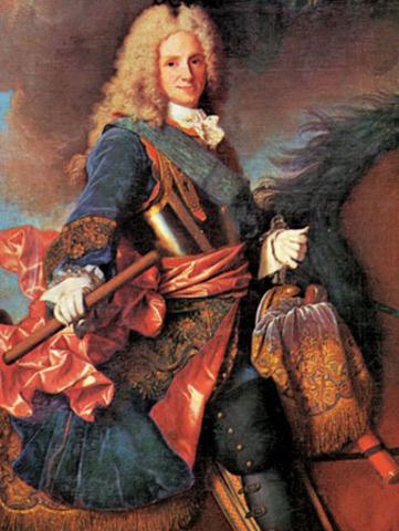 Ascension al trono de Felipe V de Anjou