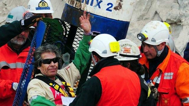 Derrumbe mina San José deja atrapados a 33 mineros