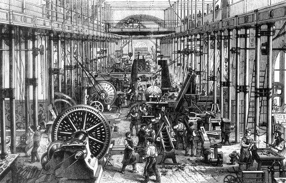 Revolución Industrial. Siglo XIX