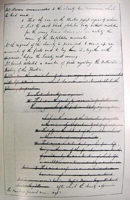 Charles Darwin First Scientific Speech