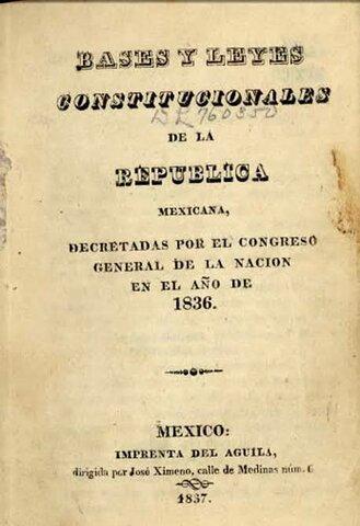 """""""Constitución del régimen centralista"""""""