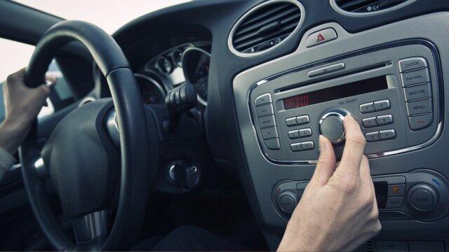 Radios en autos