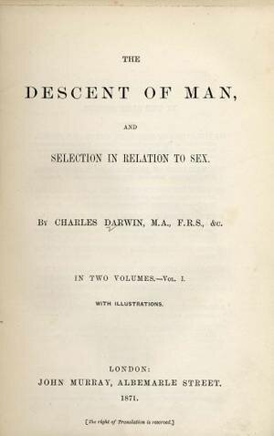 """Charles Darwin's """"The Descent of Man"""" was Published"""