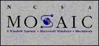 Aparece el navegador para Internet Mosaic.