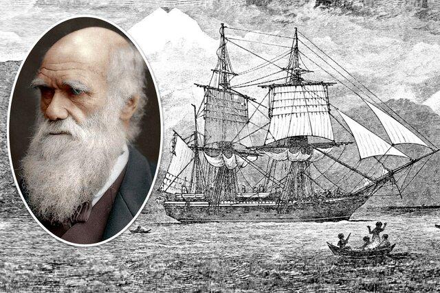 Charles Darwin, 1809-1882 – Voyage of H.M.S. Beagle