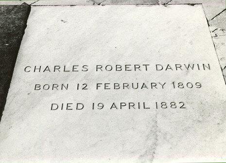 Charles Darwin Dies