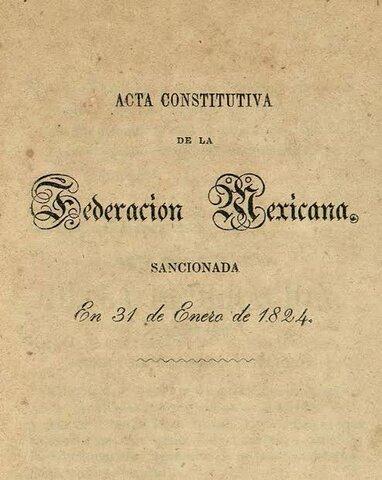 """""""Acta Constitutiva"""""""