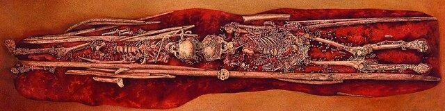 More Complex Burials - 30,000ya