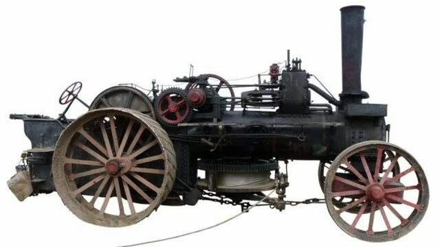 Época de grandes inventos como la máquina de vapor