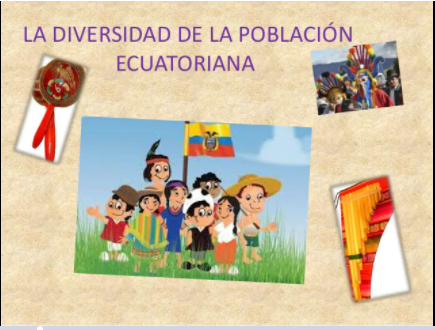 Origen y diversidad de la poblacion ecuatoriana