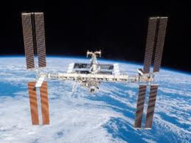 First piece of ISS is launched