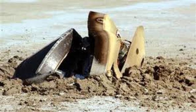 Genesis - Dramatic crash landing