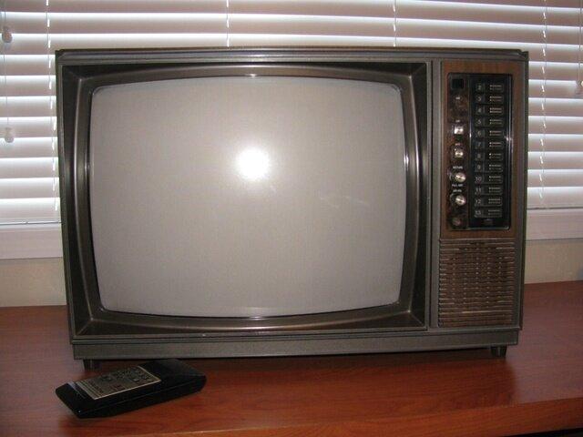 Televisión a control remoto