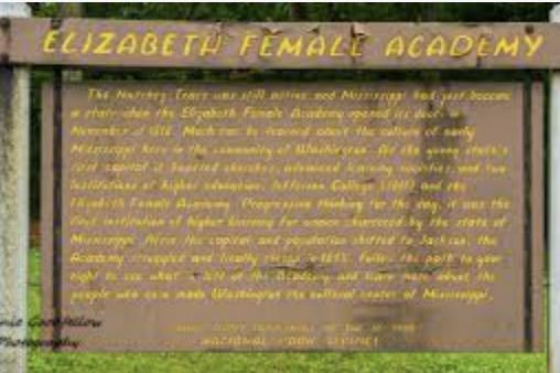 Elizabeth Female Academy Founded